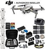 DJI Mavic Pro Platinum Collapsible Quadcopter 5-Battery Ultimate Bundle
