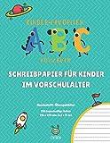 Kinder-Favoriten   Notizbuch   SCHREIBPAPIER FÜR KINDER IM VORSCHULALTER   Handschrift-Übungsblätter   120 doppelseitige Seiten   216 x 279 mm (8.5 x ... Verbesserung der Feinmotorik (German Edition)