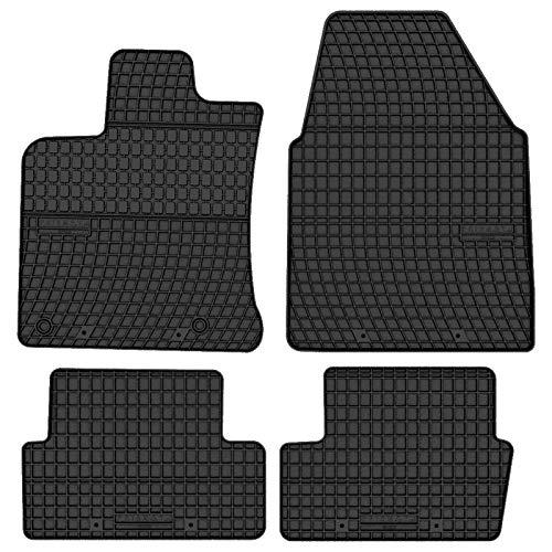 Prismat Gummimatten Gummi Fußmatten Satz für Nissan Qashqai J10 / +2 (2006-2013) - Passgenau