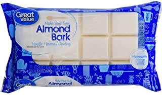Vanilla Almond Bark, 24 OZ segmented bar