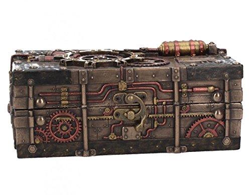 Dark Dreams Steampunk Kiste Schachtel Box Zahnräder Deko Aufbewahrung