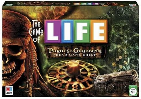 Game of Life Pirates of the Caribbean Dead Man s Chest Edition product image