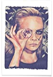 JUNIQE® Cara Delevingne Poster 30x45cm - Design