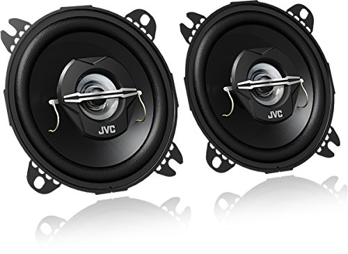 JVC CS-J420X - Altavoces coaxiales para coche (21 W RMS, 45 - 22000 Hz, 10cm (4