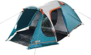 NTK INDY GT 4 to 5 Person 12.2 by 8 Foot Outdoor Dome Family Camping Tent 100% Waterproof 2500mm, European Design, Easy As...