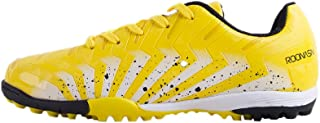 ROONASN Kids' Outdoor/Indoor Soccer Shoes Athletic Soccer Cleats Football Boots Shoes(Little Kid/Big Kid)