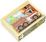 Melissa & Doug- Vehicles Juego Puzzle, 3-6 Años, Multicolor (Melissa&Doug 13794) , color/modelo surtido