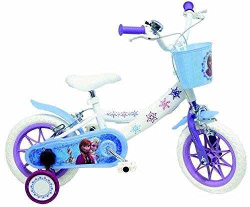 Disney La Reine des Neiges EVO Vélo Enfant Blanc 16'