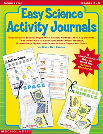 Easy Science Activity Journals, Grades 3-6
