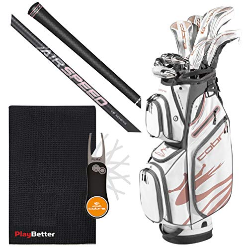 Cobra Women's F-MAX Airspeed Complete Golf Set