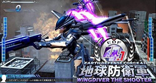 EARTH DEFENSE FORCE 4.1 WINGDIVER THE SHOOTER (地球防衛軍4.1ウイングダイバー・ザ・シューター) オンラインコード版