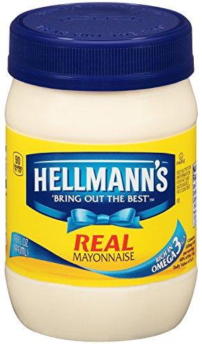 HELLMANN'S Real Mayonnaise, 15 Ounce (Pack Of 12)