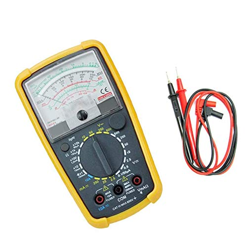 NanXi Zeiger-Multimeter, Das Analoge Multimeter KT-7244L Hochpräzises Zeiger-Multimeter Mit Hintergrundbeleuchtung Und Schutzabdeckung