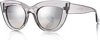 Retro Cateye Sunglasses for Women Fashion Clout Goggles...