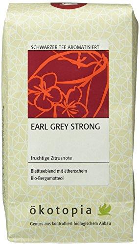 Ökotopia Earl Grey Strong, Tee, 1er Pack (1 x 250 g)