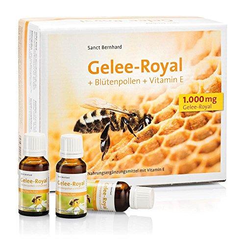 Sanct Bernhard Gelee Royal Trinkfläschchen Gelee-Royal, Blütenpollen, Vitamin E 600 ml