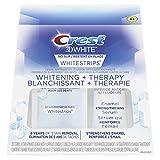 Crest 3D White No Slip Whitestrips Dental Whitening + Therapy Kit, 28 Strips