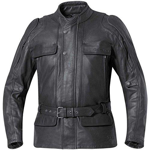 Held Varano II Touren Lederjacke, Farbe schwarz, Größe 50