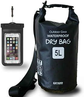 日本市場で強力 スマイル一番[Waterproof Dry Bag][ 寒い 冬 でも 柔らか素材 ]  5L 10L ..