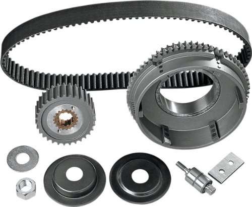 Belt Drives Ltd. 11mm 1-1/2in. Primary Belt Drive with Idler Bearing for Harley - One Size