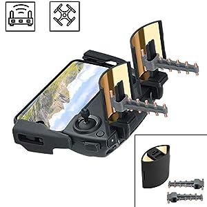 O'woda Plegable Espejo Señal Aumentador de presión Parabólico Señal Mejora + Yigi UDA Antena Rango Extensor Control Remoto Transmisor Extensión Accesorios para dji Mavic Mini