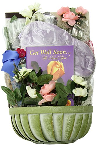 Gift Basket Village Get Well Soon Gift Basket for Women