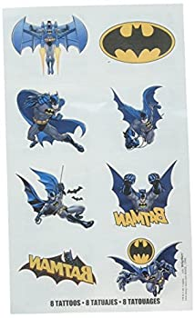 Batman Tattoo Favors Party Favor