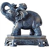 J.Mmiyi Elefantes Decoracion Figuras Estatua, Fortuna Afortunada Animal Escultura Decorativa Salon Adornos,A