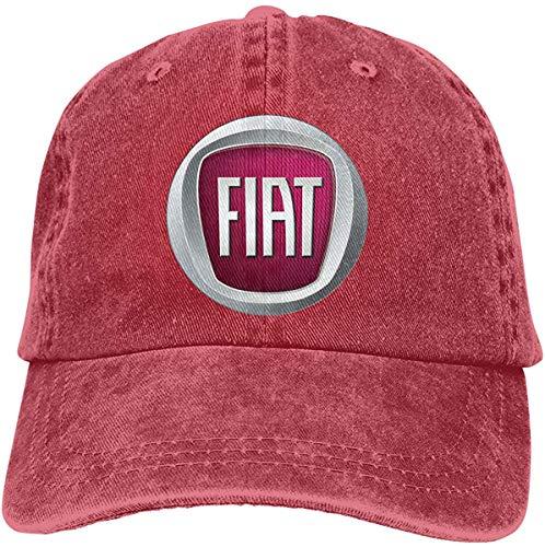 Design FIAT Car Logo Fashion Baseball Caps for Mens Black,Hüte, Mützen & Caps