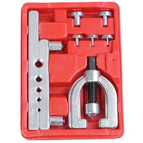 Nrpfell Ausgestelltes Riser Werkzeug Kit für Kfz Brems Leitung, Rohr Expander Klimaanlage und Kühlung Auto Reparatur Satz