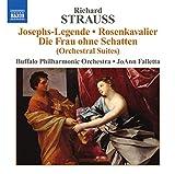 Richard Strauss : Josephs-Legende, Der Rosenkavalier, Die Frau ohne Schatten (Orchestersuiten)