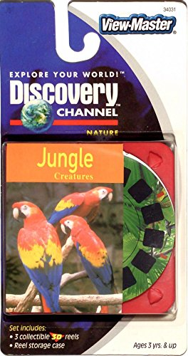View-Master Discovery Channel Jungle Creatures 3D 3 Reel Set