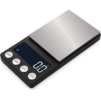 改良版 携帯タイプはかり ポケットデジタルスケール(秤) 0.01g-500g精密 業務用(プロ用) デジタルスケール 電子天秤