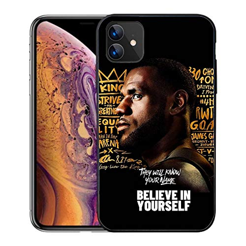 PTDS iPhone 11 pro max Case,Basketball Star Plastic Cover for iPhone 11 pro max (Lebron-5)