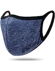 Wild Scene 运动口罩 【 钓鱼具制造商开发的冷感口罩 】 男女通用 可重复清洗 结实设计 网眼 跑步 运动用