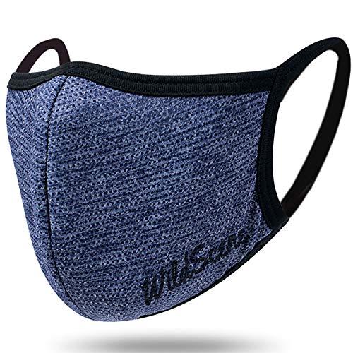 Wild Scene スポーツマスク 「 釣具メーカーが開発した 冷感マスク 」 男女兼用 繰り返し 洗える タフ設計 メッシュ ランニング 運動用