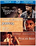Denzel Washington Triple Feature [The Pelican Brief / Training Day / John Q] [Bl