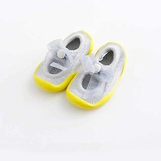 ZHANGNUO, Calcetines Interiores para Niños De 6 a 36 Calcetines De Primavera Y Verano para Niños Calcetines Antideslizantes para Bebés Y Niños con Suela De Goma Suave