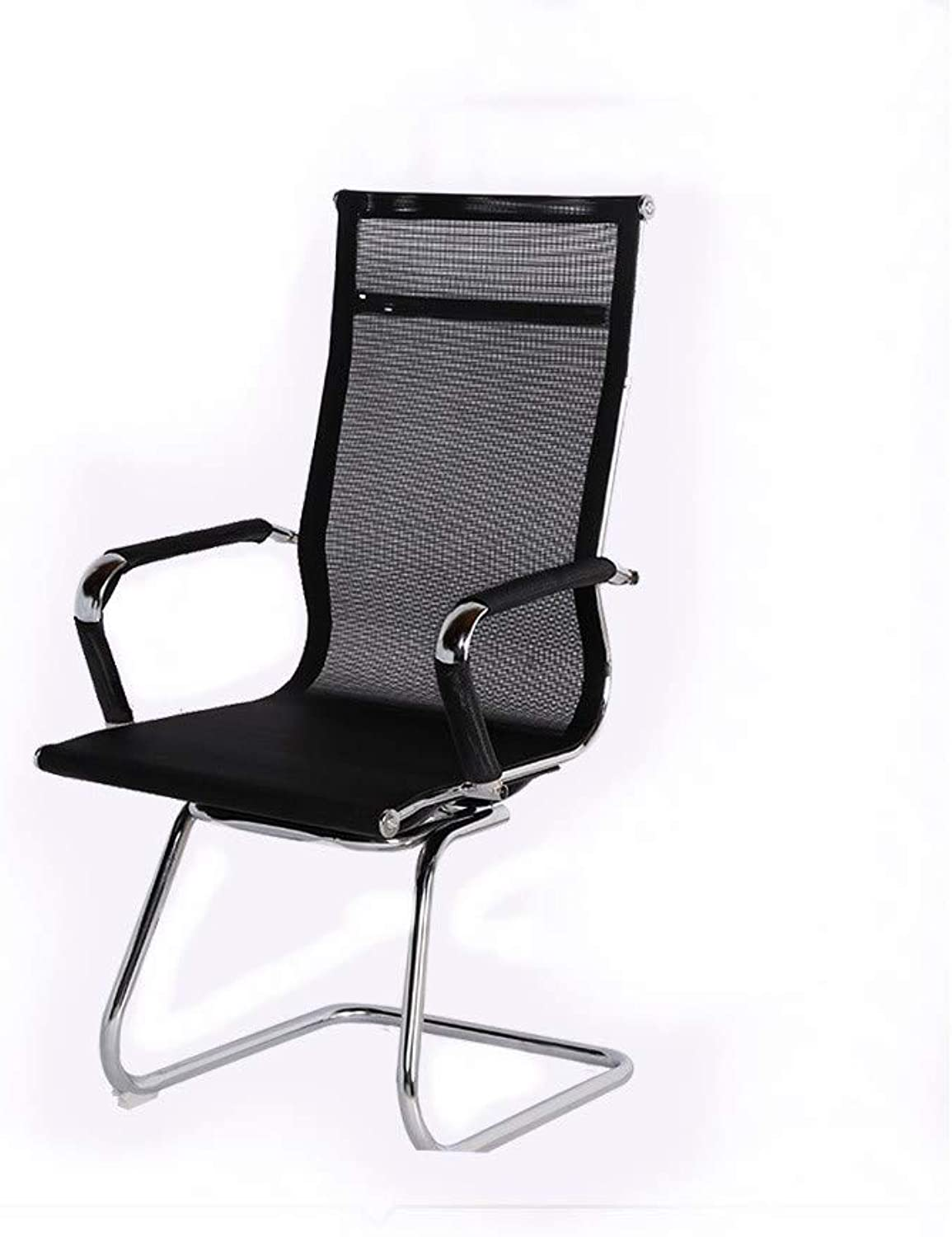 STURDY Fashion Computer Chair High Back Mesh Chair Ergonomic Bow Chair Office Staff Office Training Chair Comfortable