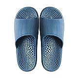 Scarpe da massaggio per i piedi, da massaggio ad agopressione, antibatteriche, da bagno, per uomini e donne, estive, antiscivolo, sandali e pantofole di fondo morbido.