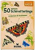 moses. Expedition Natur - 50 heimische Schmetterlinge| Bestimmungskarten im Set | Mit spannenden Quizfragen