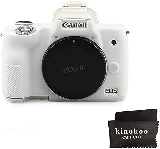 Kinokoo - Carcasa de silicona para cámara Canon EOS M50