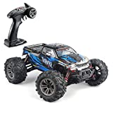 Hosim 1:16 Scale 36+ kmh High Speed RC Trucks for Adults - 4WD Electric Off-Road Waterproof RC Cars Radio Control Vehicle with 2.4GHz All Terrian RC Monster Trucks for Boy(Blue)