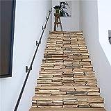 Autoadhesiva de bricolaje mural extraíble paraescalerascalcomanía - Pegatinas de escalera de pared de piedra trece simples creativas pegatinas de escaleras pegatinas de pared