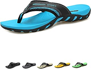 Mens Flip Flops Orthotic Thong Sandals with Arch Support