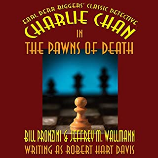 Charlie Chan in The Pawns of Death audiobook cover art