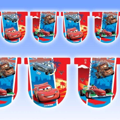 Cars 2 bannière drapeau du parti