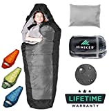 Best lightweight sleeping bag - HiHiker Mummy Bag + Travel Pillow w/Compact Compression Review