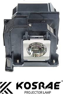KOSRAE ELPLP80 / V13H010L80 Replacement Lamp for EPSON PowerLite 580 585W / BrightLink 585Wi 595Wi / BrightLink Pro 1420Wi 1430Wi / EB-1430Wi EB-585W EB-595Wi Projector