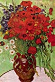 Vincent Van Gogh Red Poppies and Daisies Cool Wall Decor Art Print Poster 24x36